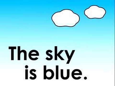 Children's Song - What color is the sky?