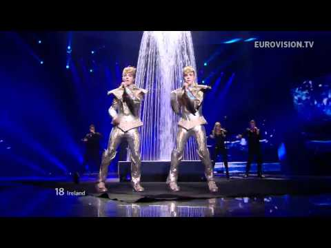 (Евровидение 2012) Jedward - Waterline (Ирландия)