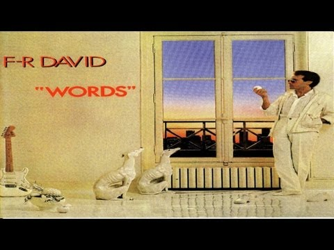 F.R. David - Words dont come easy