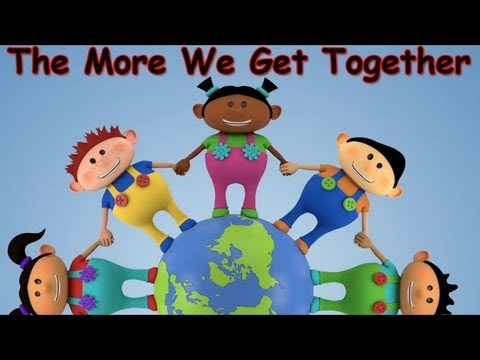 Enjoy English - Song - The More We Are Together!