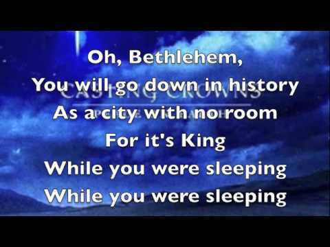 Casting Crowns - While You Were Sleeping (Original Christmas Version)